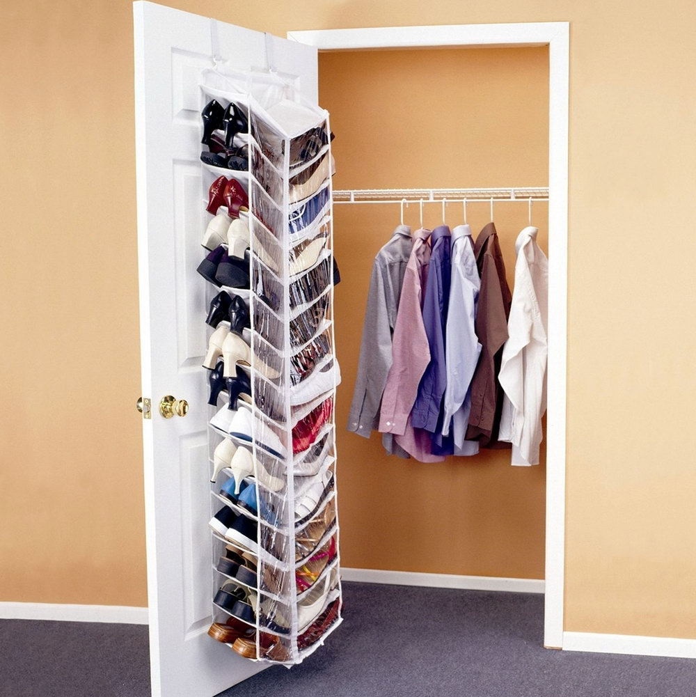 Closet Door Organizer Ideas