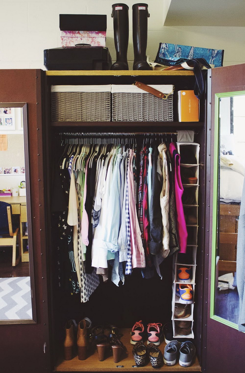 Closet Organizers For College Dorm Rooms