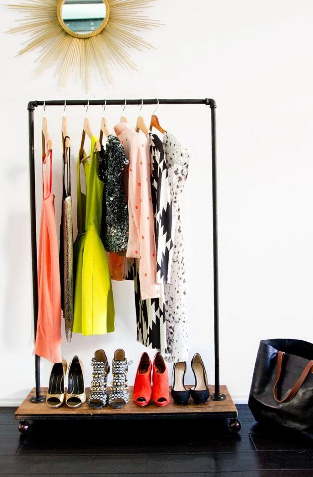 Clothes Hanger Organizer Diy