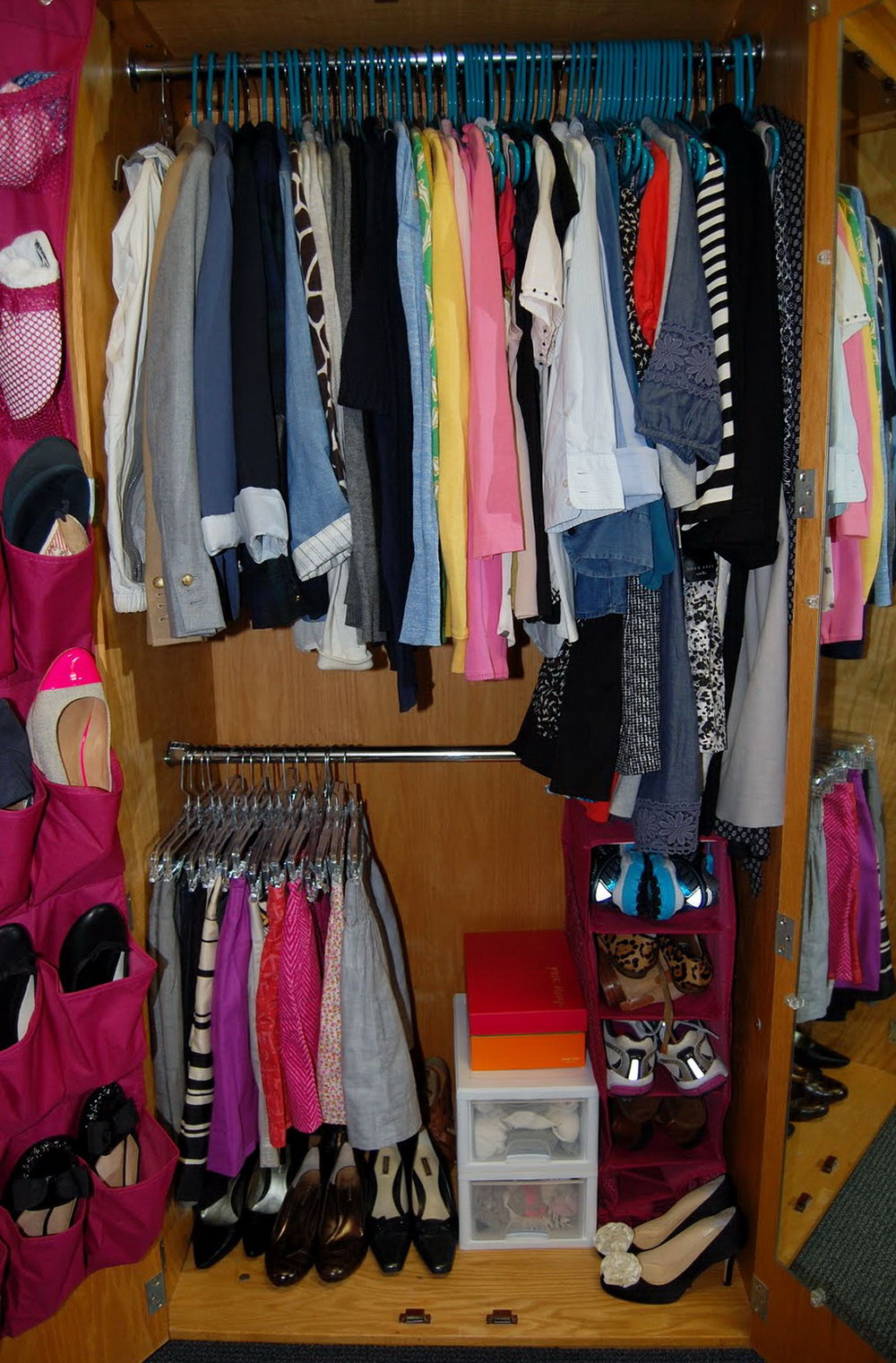 College Dorm Closet Organizer