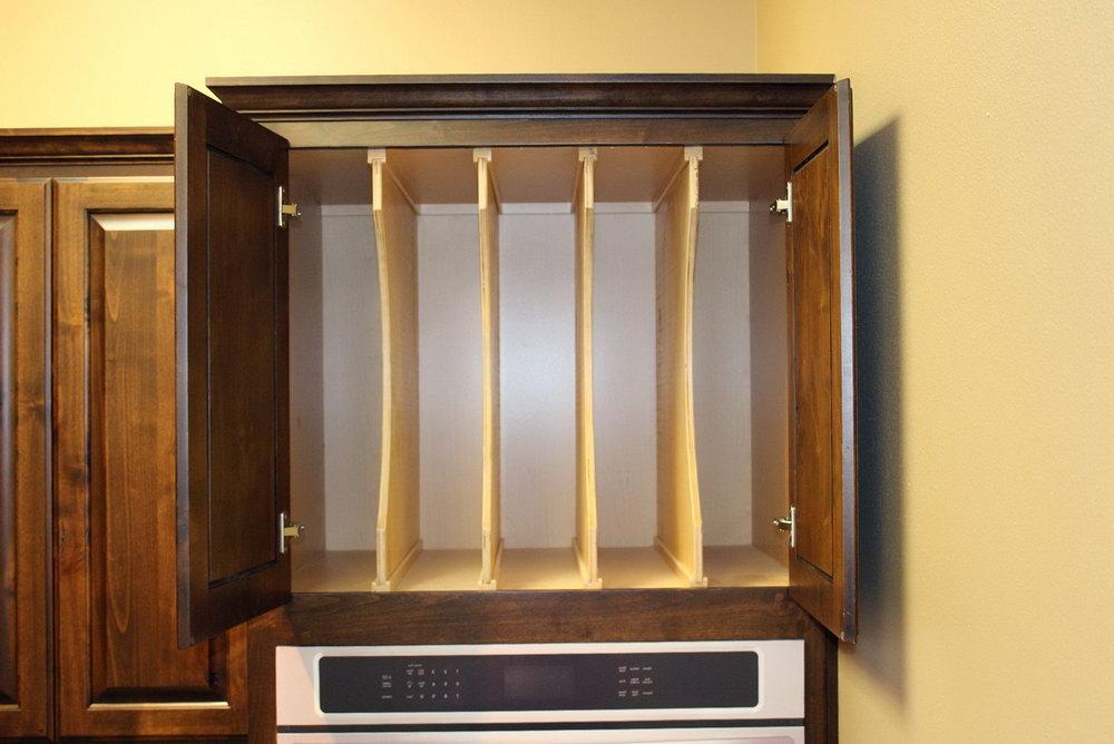 Cookie Sheet Organizer Cabinet