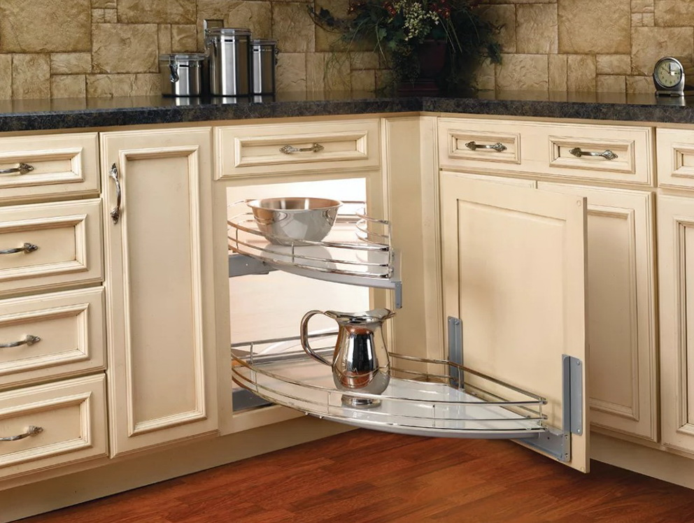 Corner Cabinet Organizers Pull Out