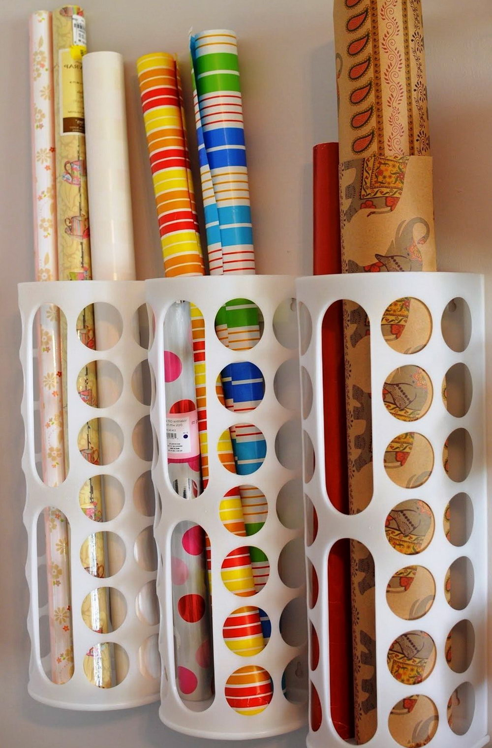Diy Kitchen Wrap Organizer