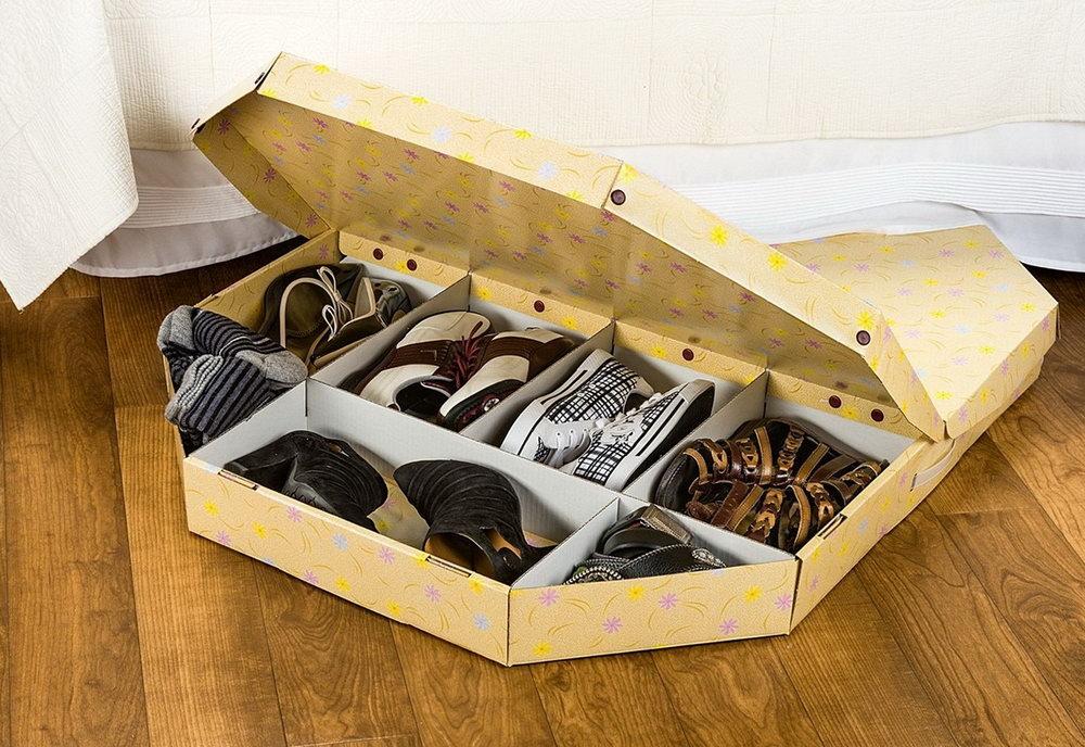 Diy Shoe Organizer Under Bed