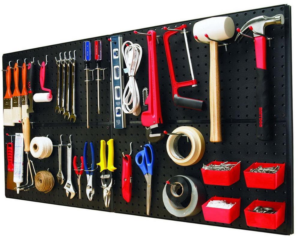 Garage Wall Organizer Hooks