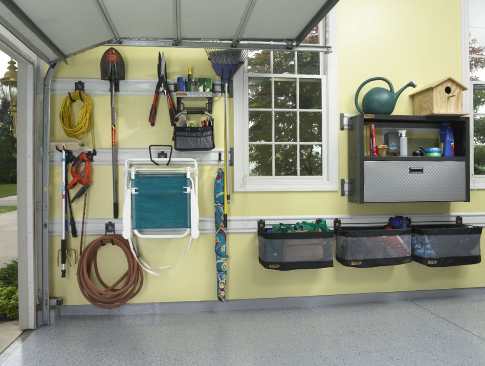 Garage Wall Organizer Panels