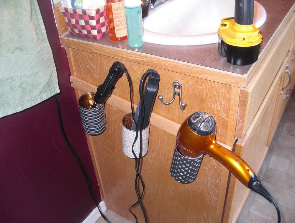 Hair Tools Organizer Diy