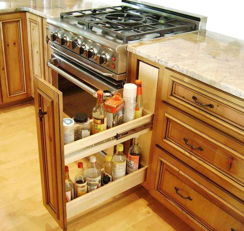 Kitchen Cabinet Shelf Organizers