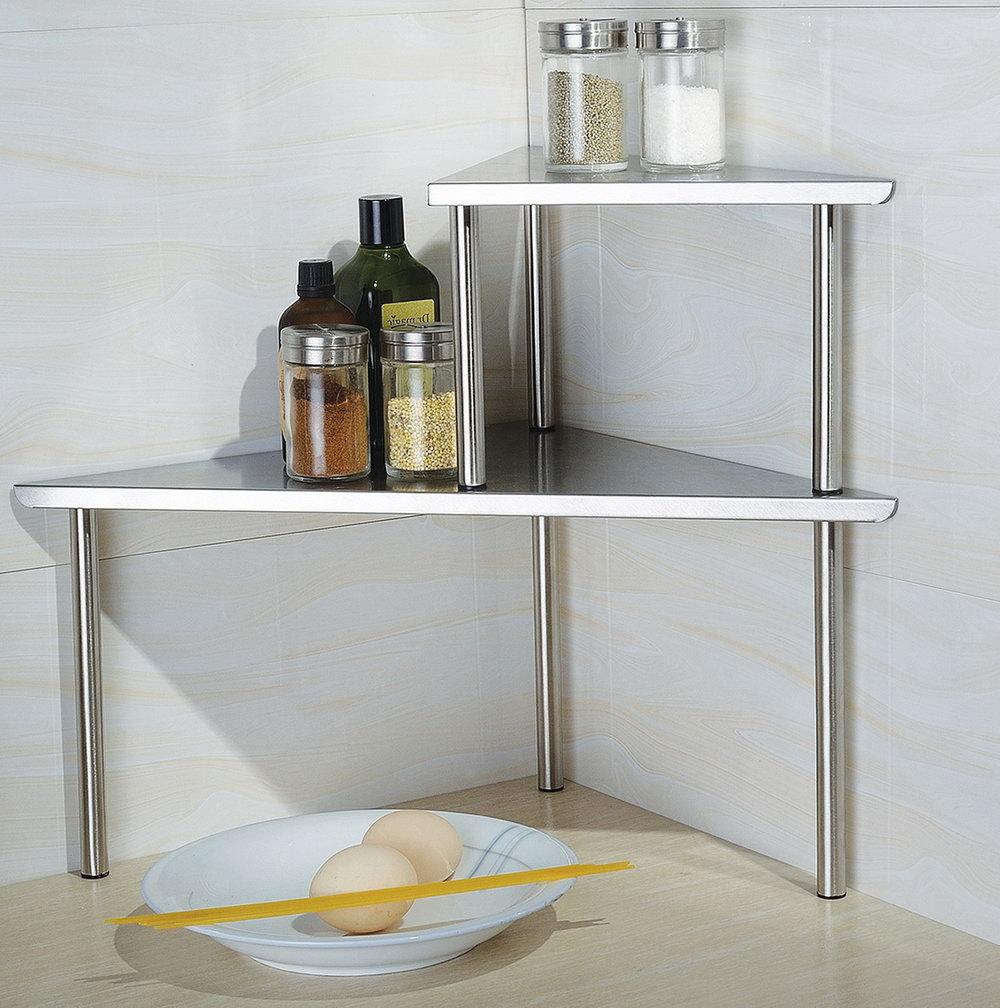 Kitchen Counter Organizer Shelf