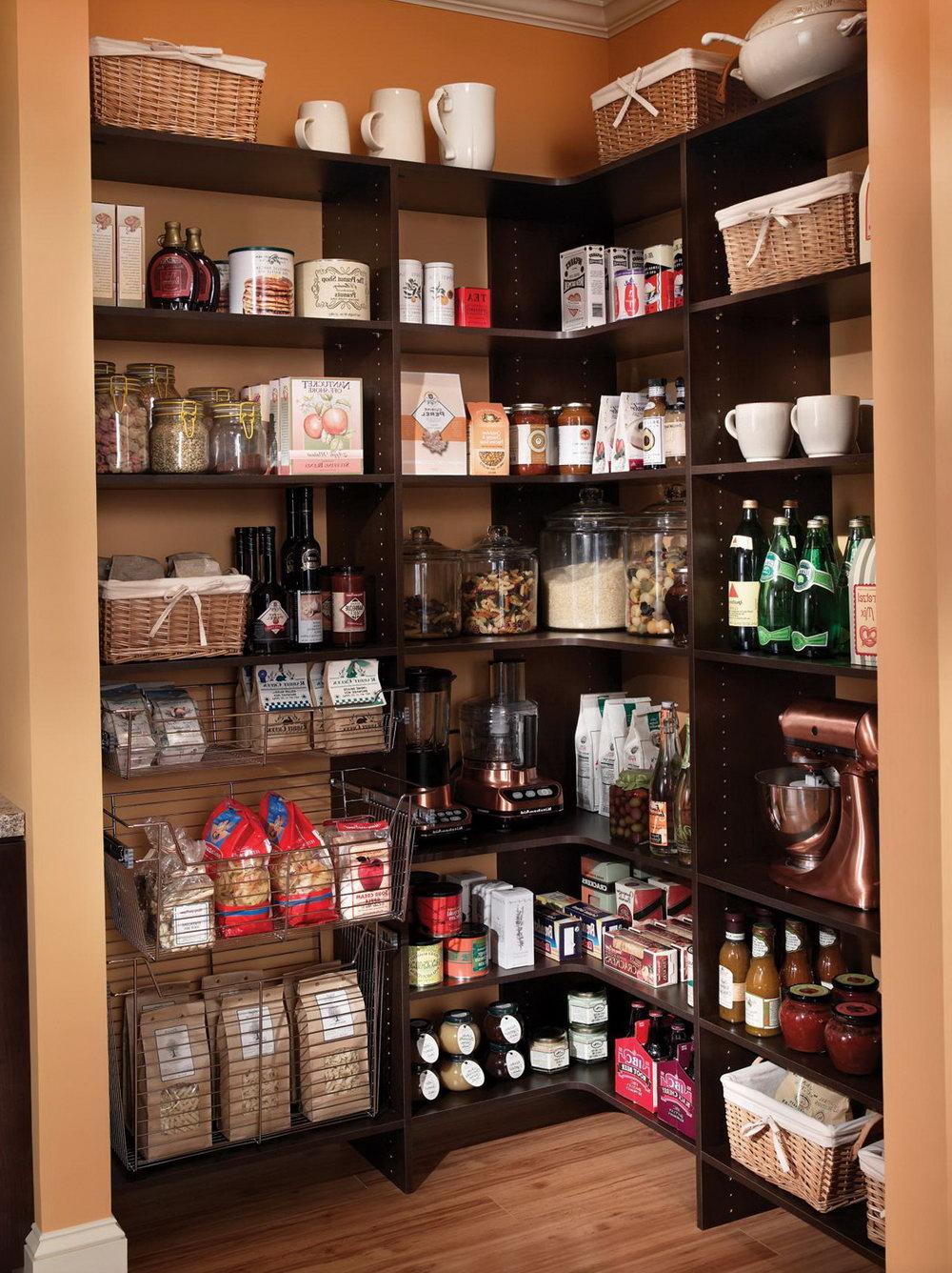 Kitchen Shelf Organizer Ideas