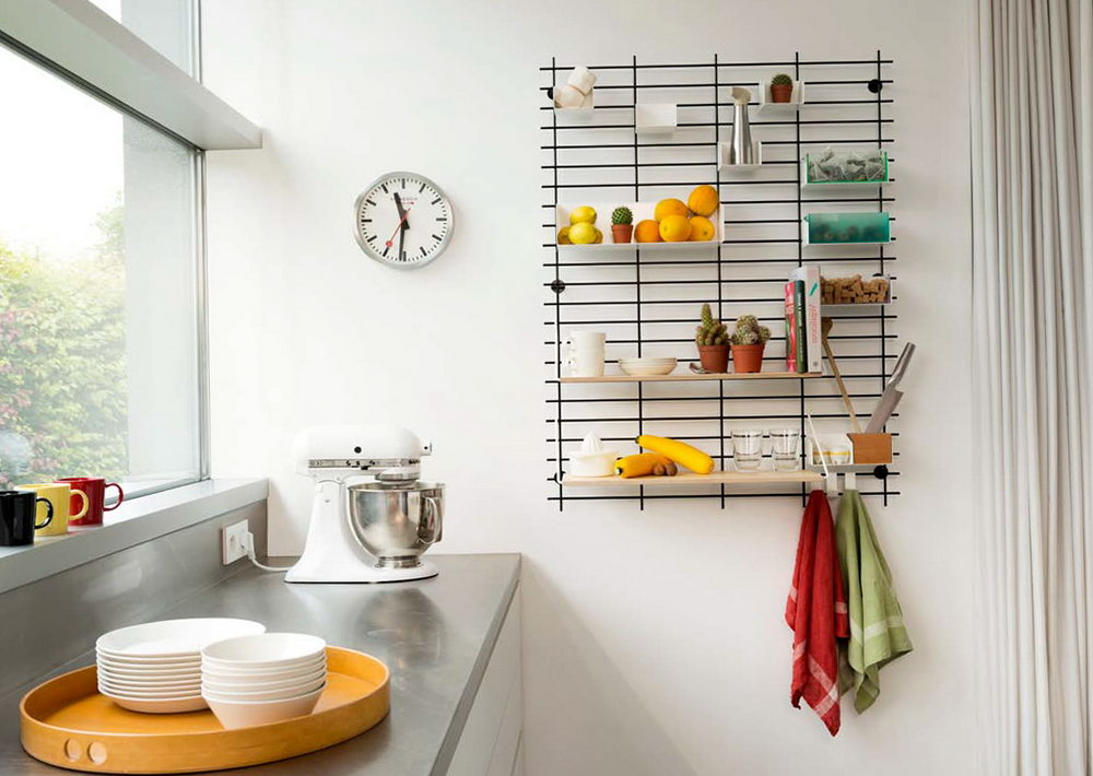 Kitchen Wall Organizer Ideas