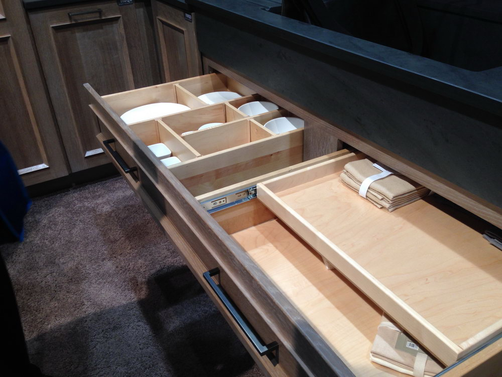 Kitchen Wrap Drawer Organizer