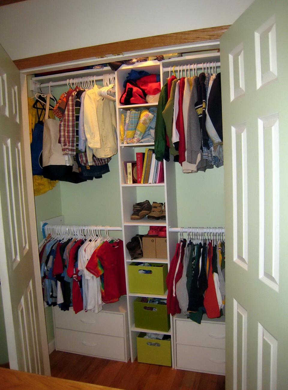 Mainstays Double Hanging Closet Organizer Instructions