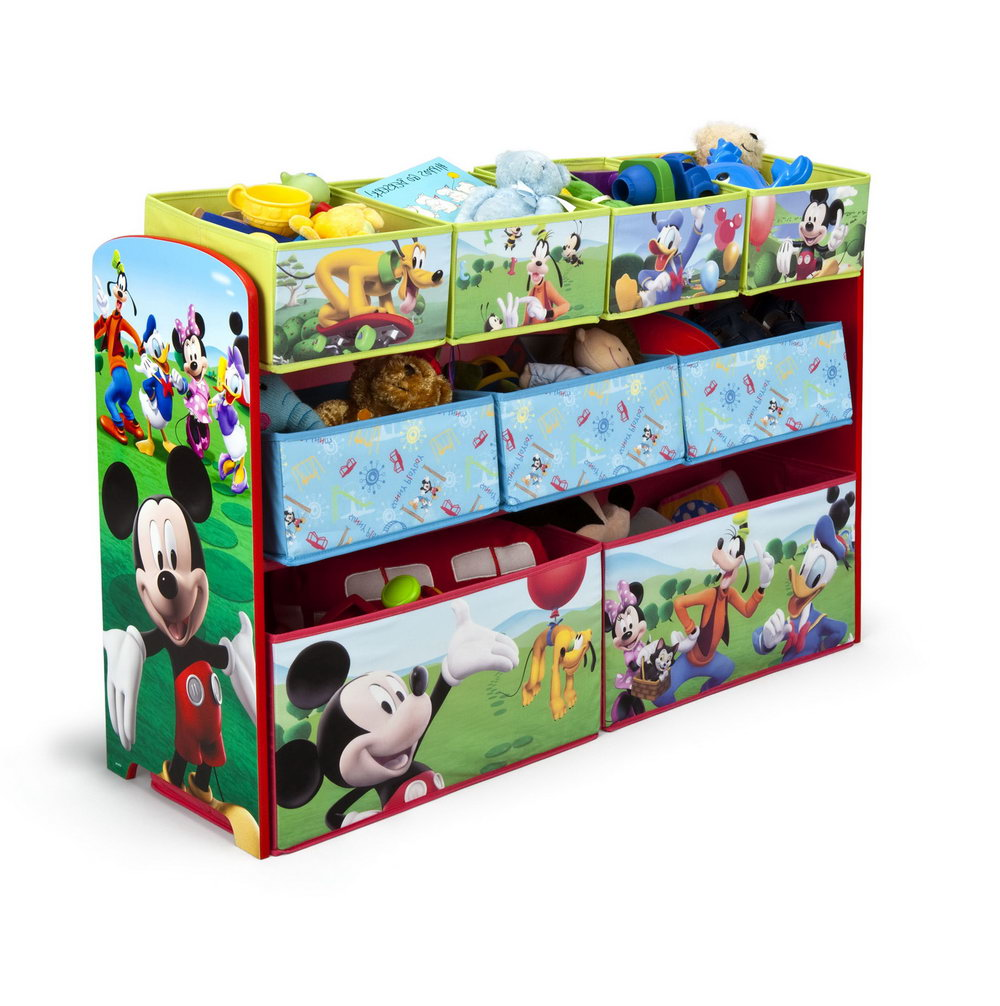 Mickey Mouse Toy Organizer Instructions