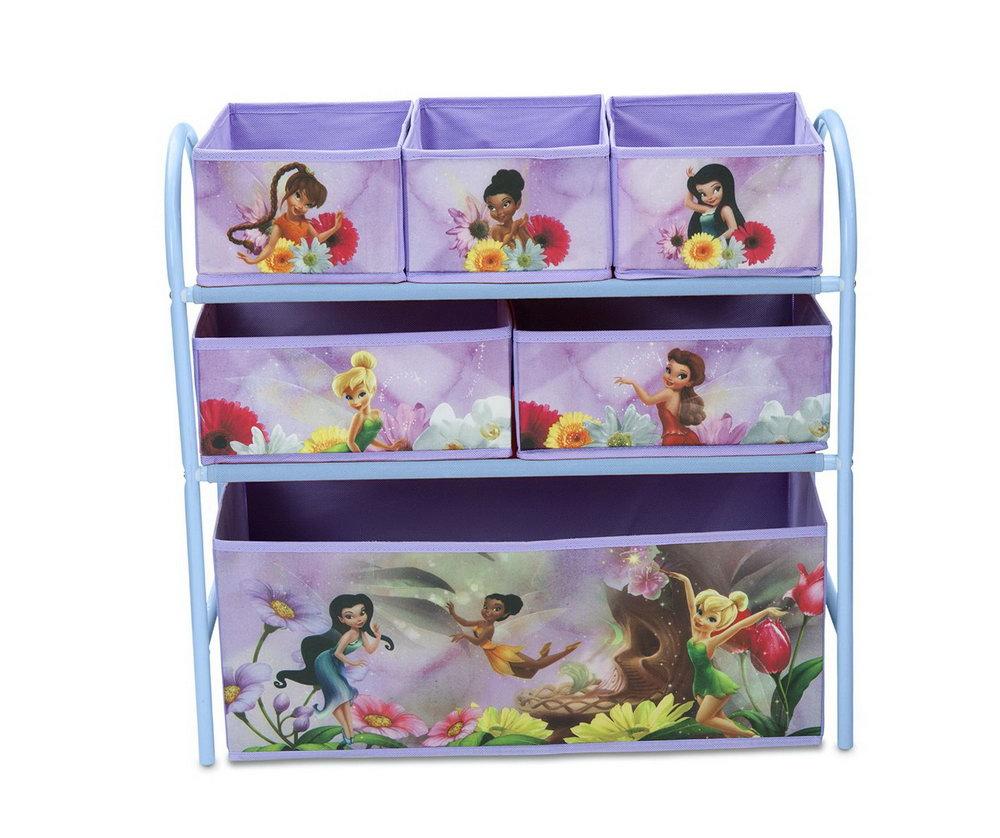 Multi Bin Toy Organizer Instructions