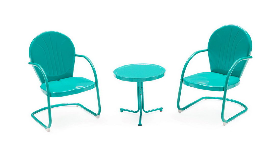 Old Metal Chairs Outdoor Furniture