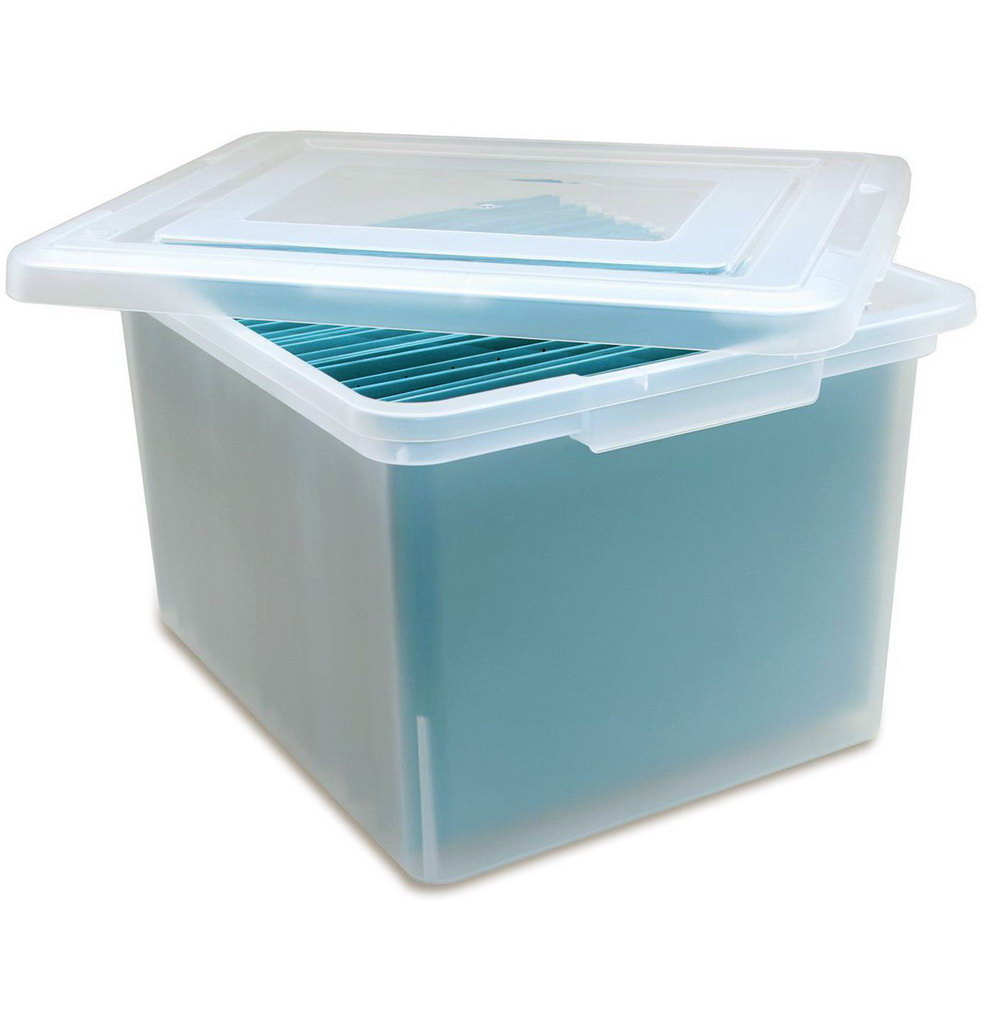 Plastic File Organizer Box