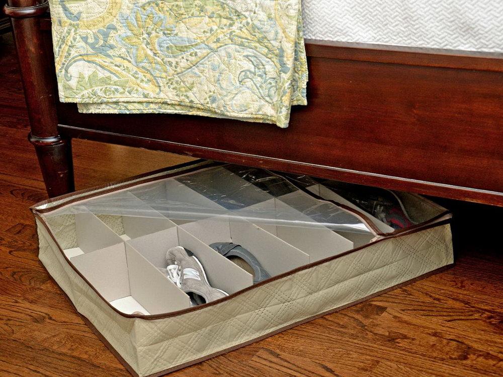 Plastic Shoe Organizer Under Bed