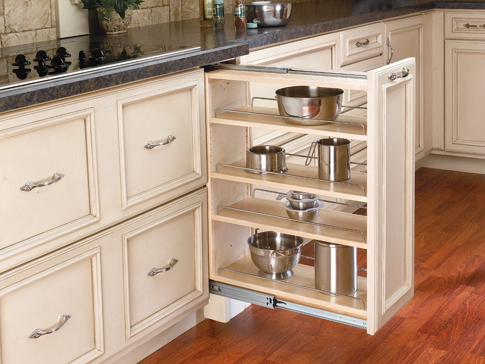 Pull Out Cabinet Organizer For Pots And Pans