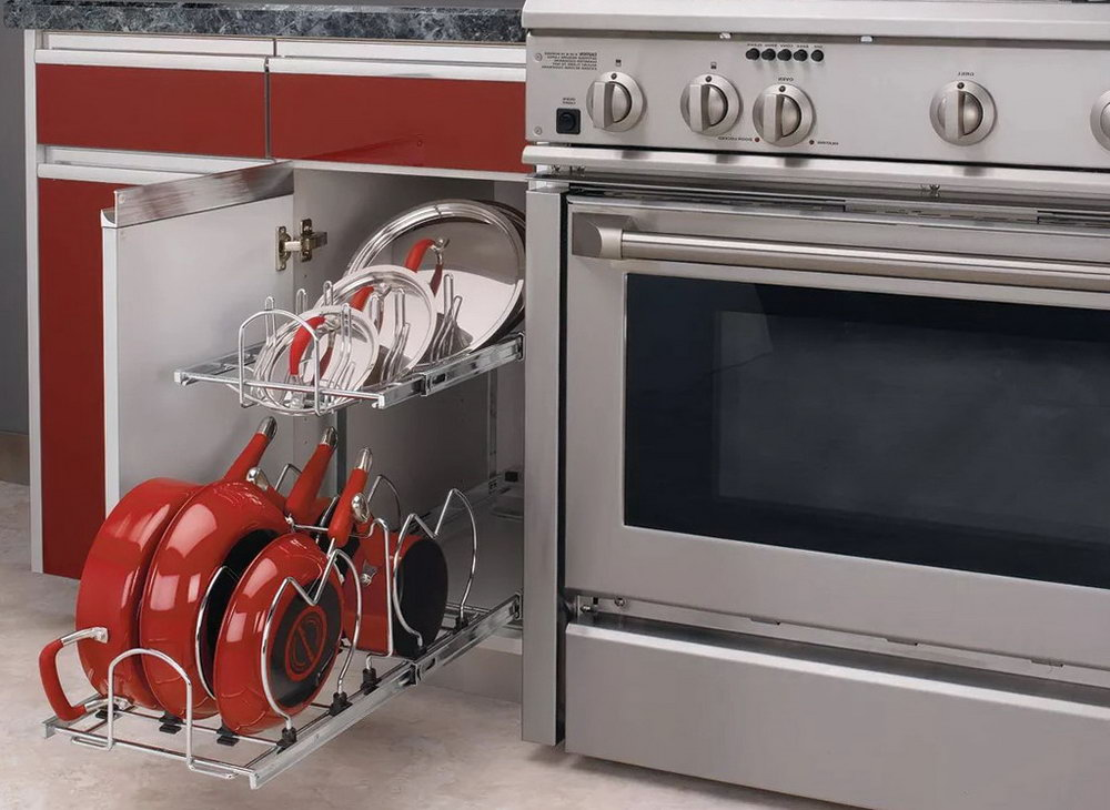 Pull Out Cabinet Organizers Kitchen