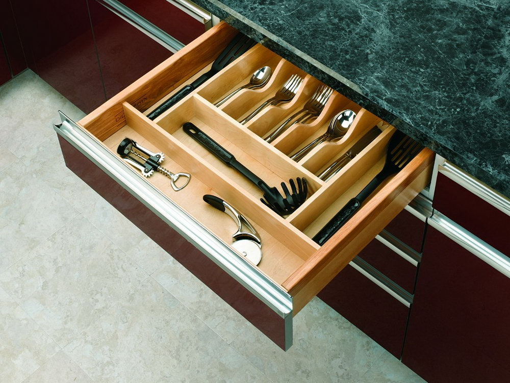 Silverware Drawer Organizer For Sterling Silver