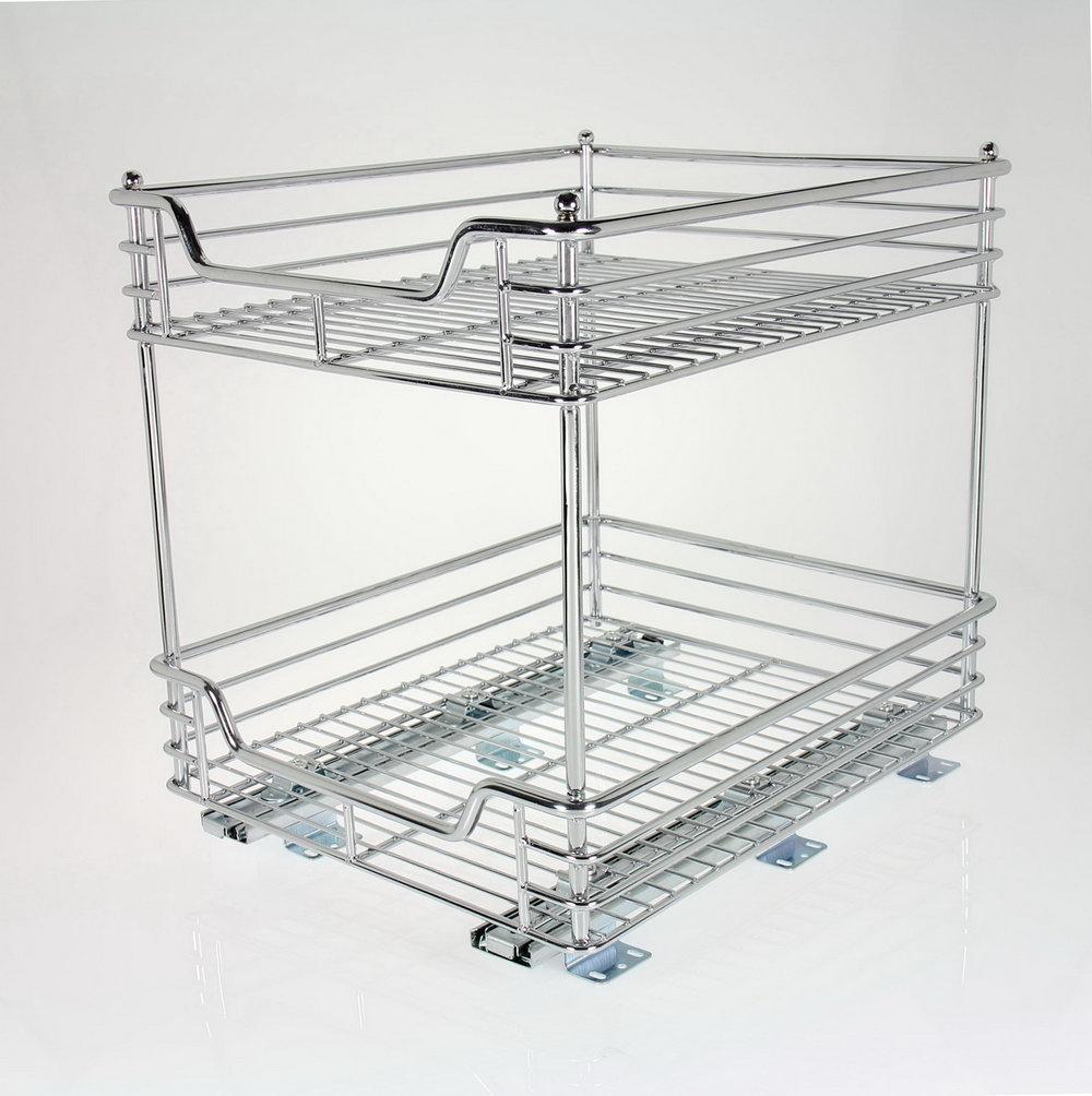 Sliding Cabinet Organizer Professional Cabinet Solutions