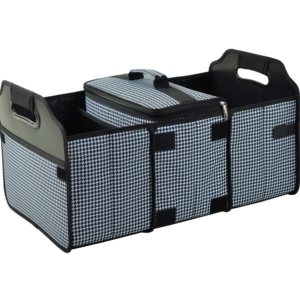 Trunk Organizer With Cooler Bag