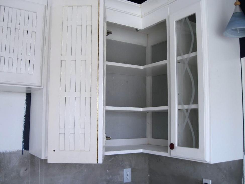 Upper Corner Cabinet Organizer