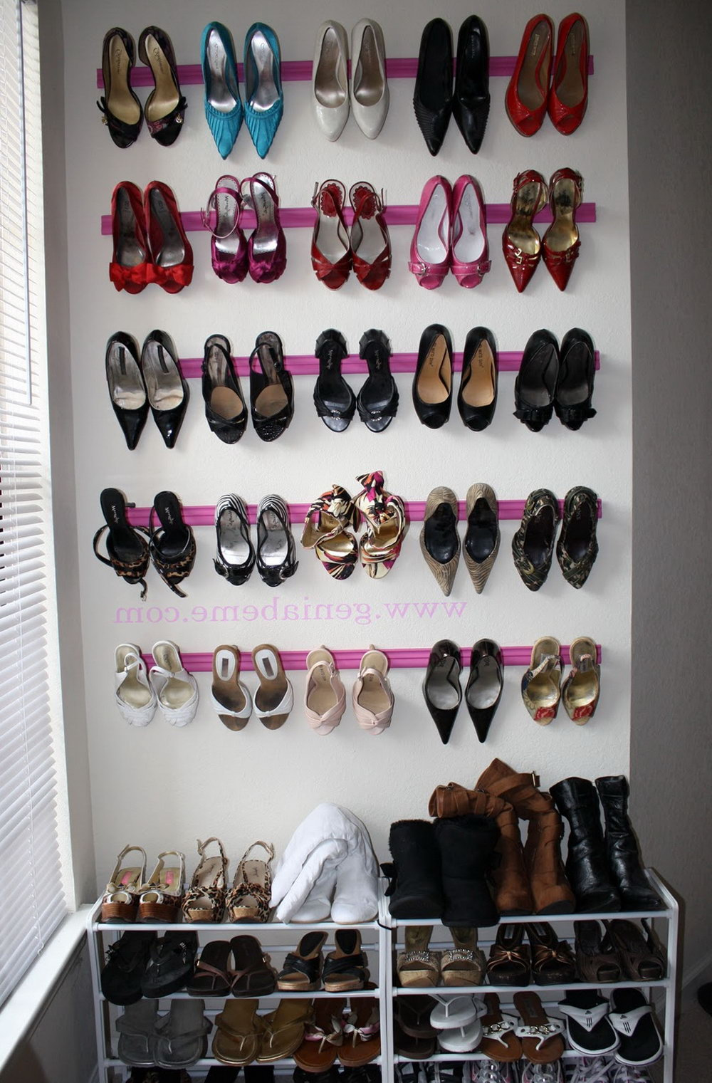 Wall Shoe Organizer Ideas