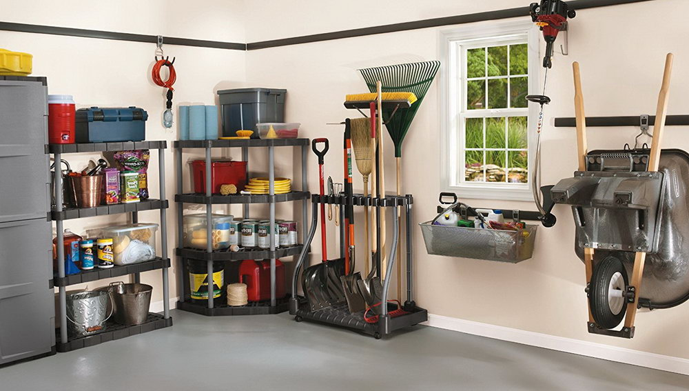Yard Tool Organizer Home Depot
