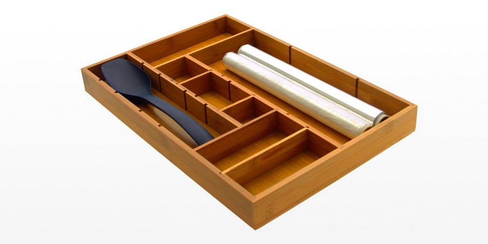 Adjustable Kitchen Drawer Organizer
