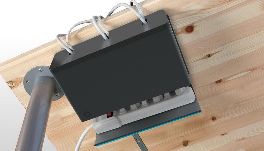 Computer Desk Cable Organizer