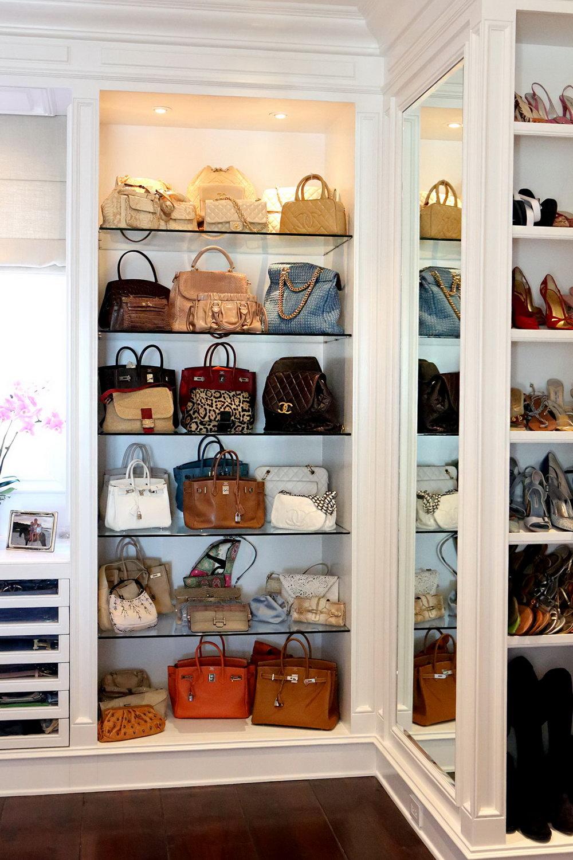 Diy Bag Closet Organizer