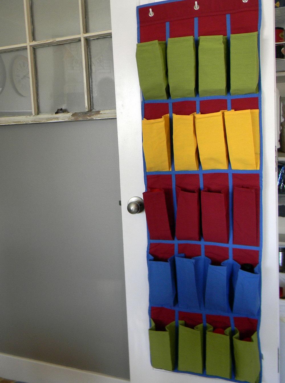 Hanging Door Closet Organizer