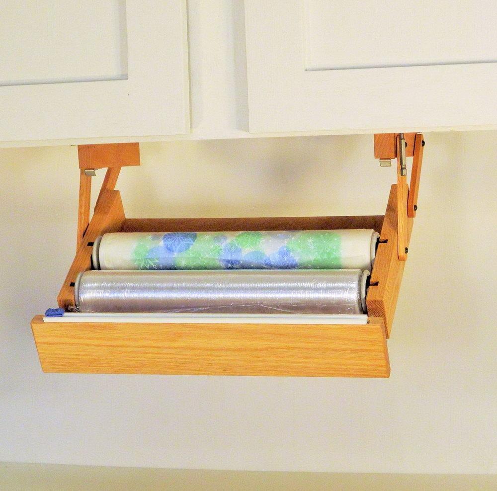 Kitchen Counter Paper Organizer