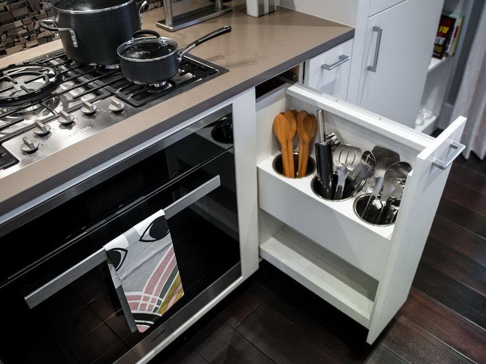 Kitchen Utensil Organizer Ideas