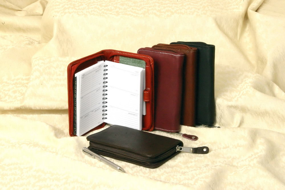 Leather Personal Organizer Planner