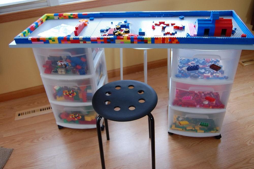 Lego Desk Organizer Instructions