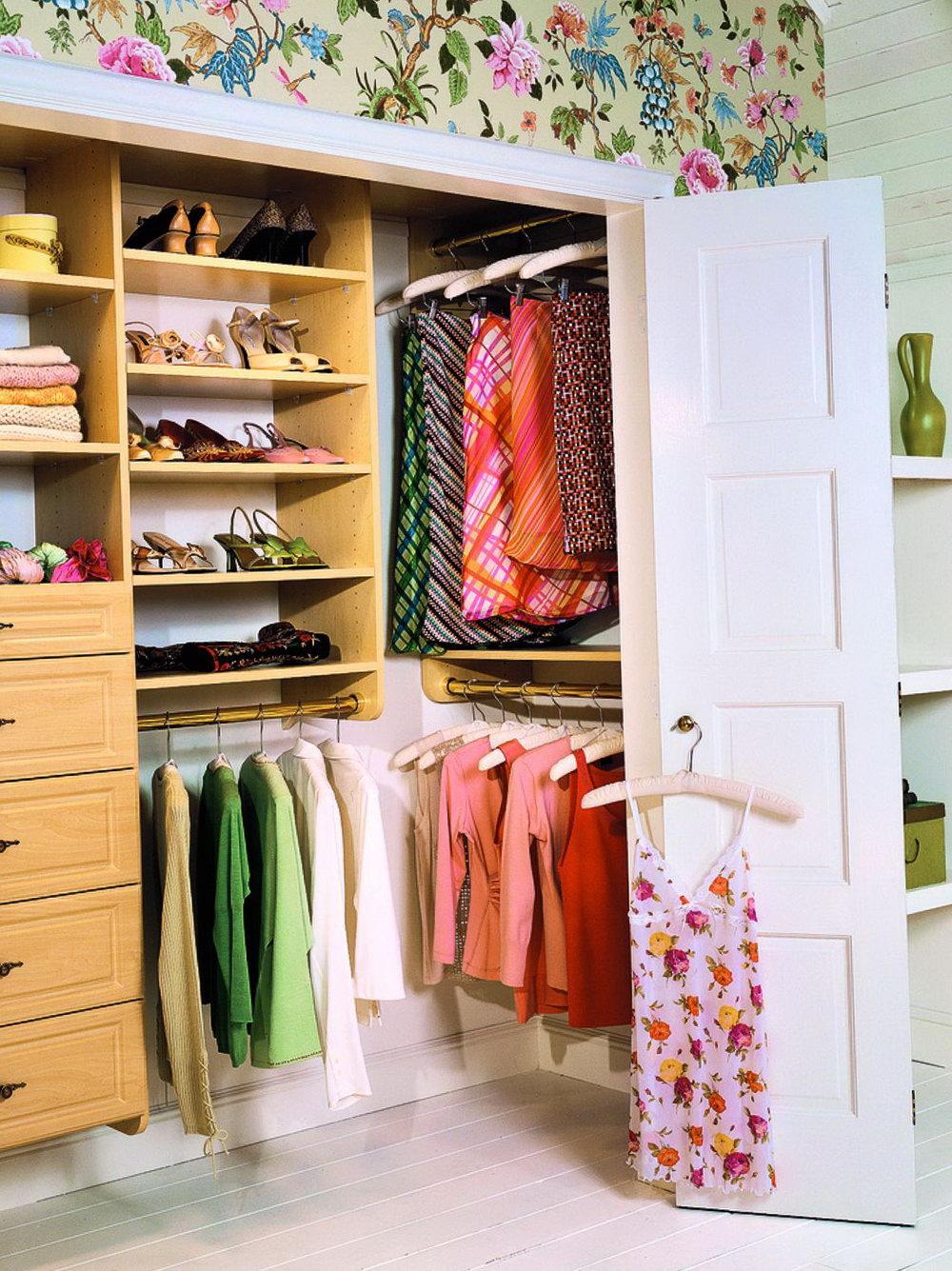 Reach In Closet Organizer Ideas