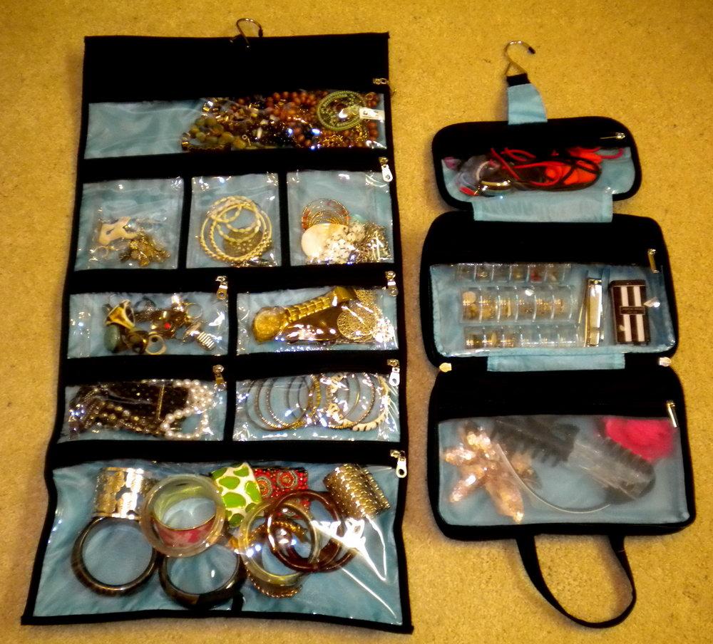 Roll Up Jewelry Organizer