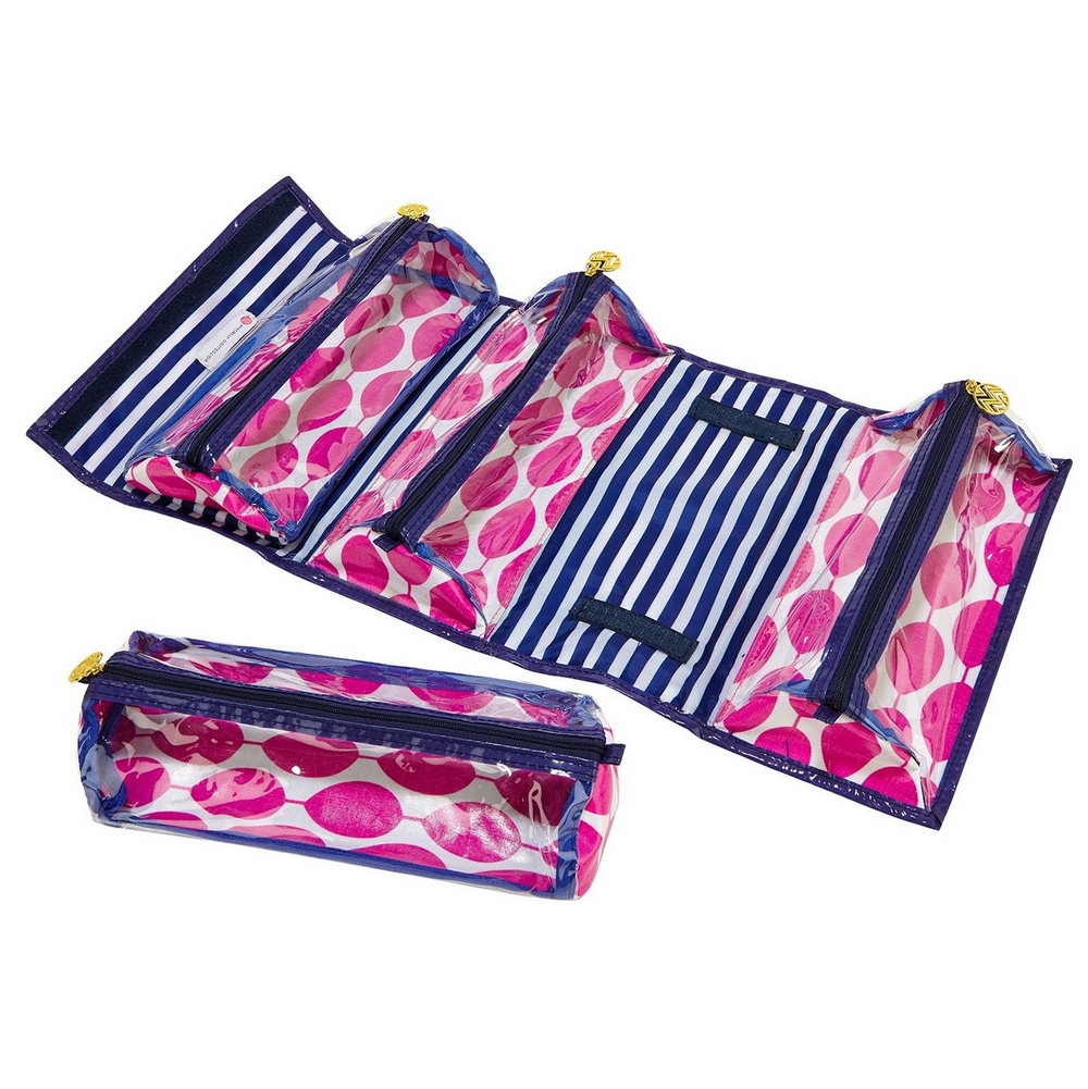 Roll Up Organizer With Removable Pouches
