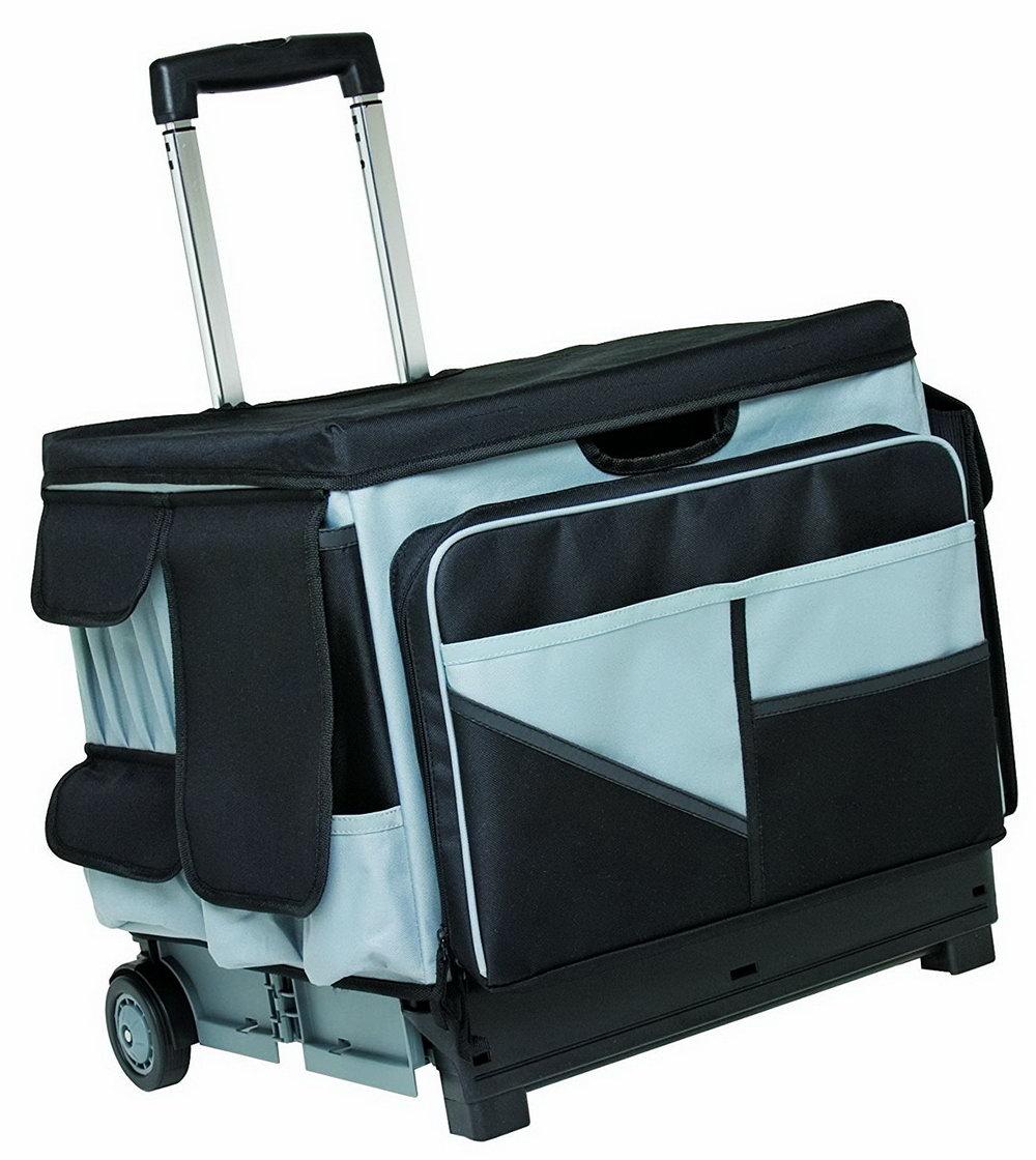 Rolling Organizer Tote Bag