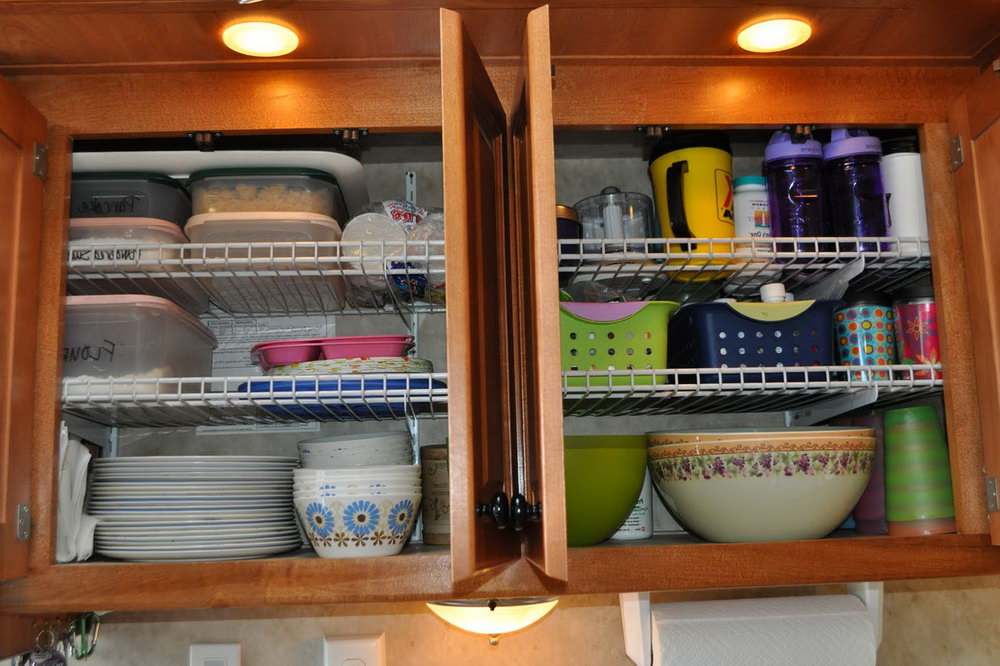 Rv Kitchen Cabinet Organizers