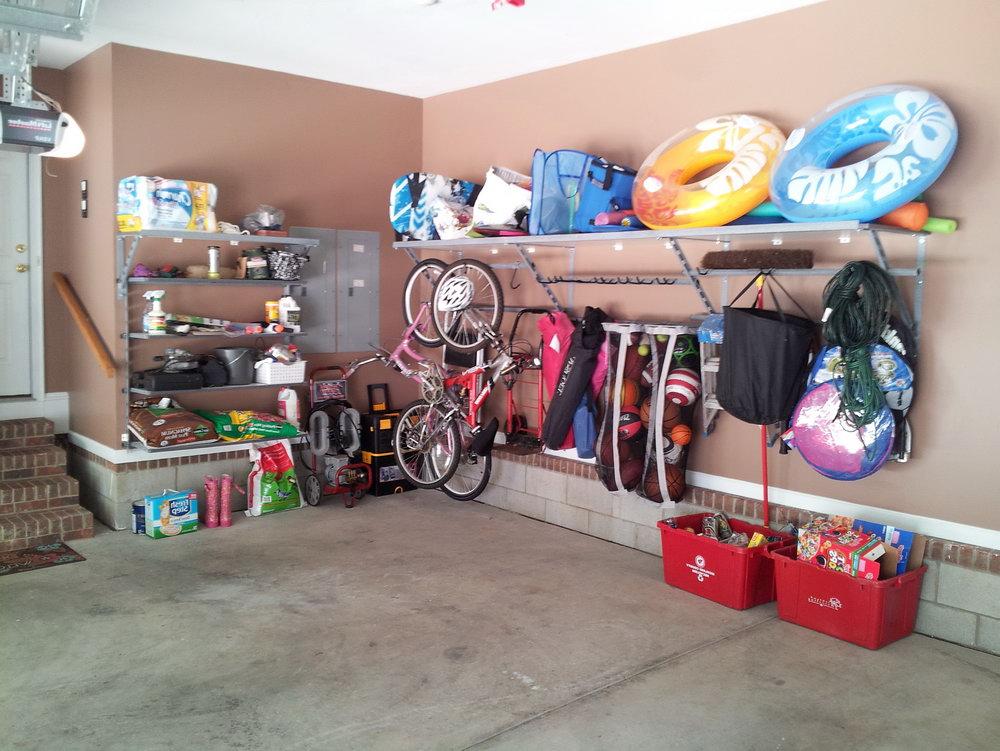 Sports Equipment Organizer For Garage