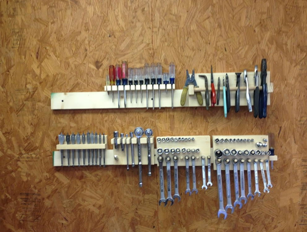 Tool Organizer Wall Ideas