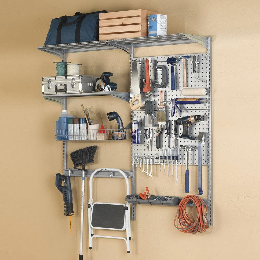 Wall Mounted Organizer Shelf