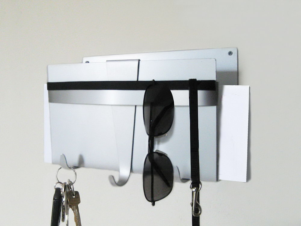 Wall Organizer For Mail And Keys