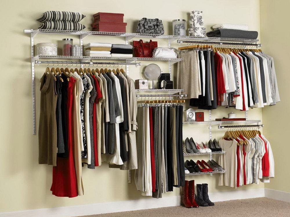 Wire Closet Organizer Ideas