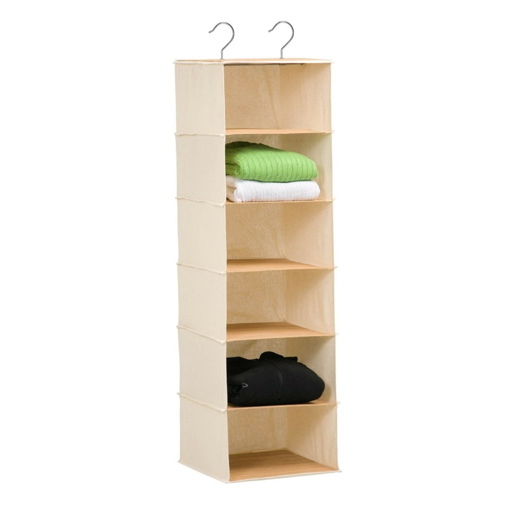 6 Shelf Hanging Closet Organizer Target