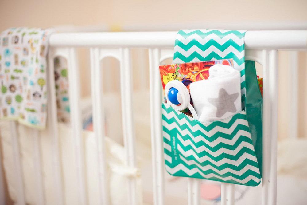 Baby Briefcase Baby Paperwork Organizer Mint Periwinkle